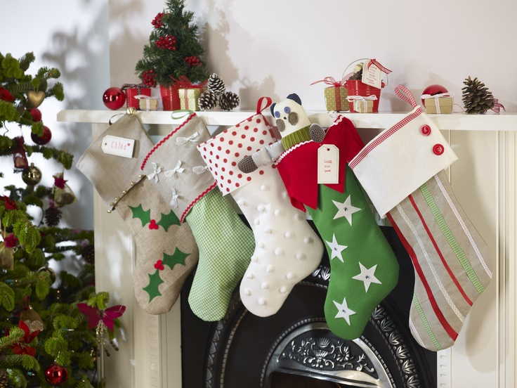 Christmas Stockings Decorating Ideas Shelterness