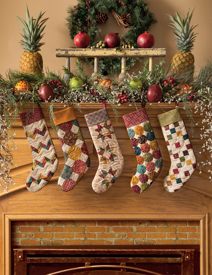 christmas stockings decorating ideas - Pictures Of Decorated Christmas Stockings
