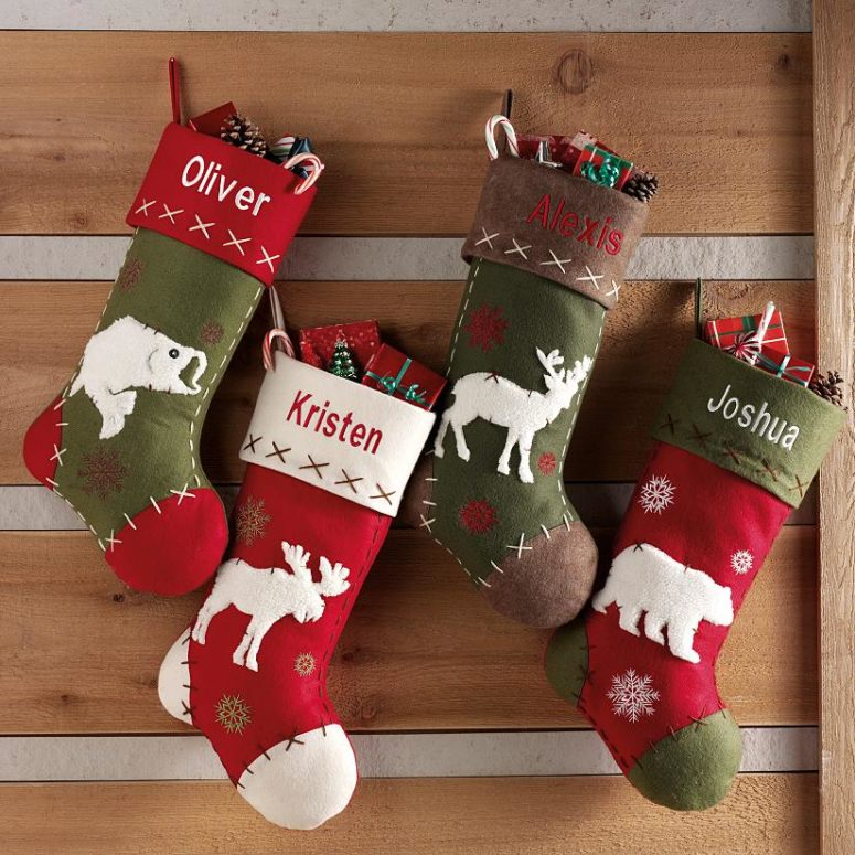 75 Christmas Stockings Decorating Ideas , Shelterness