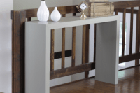picture of decorating with console tables