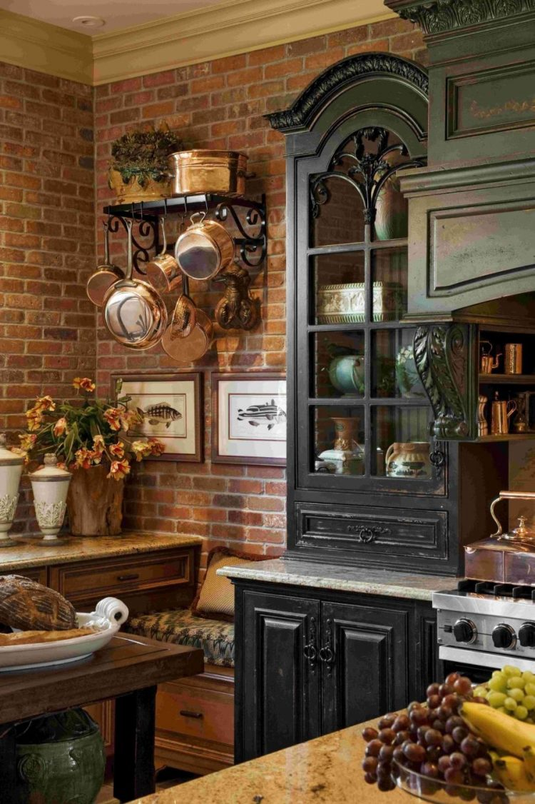 Nice Amazing Kitchen Design With French Country Furniture