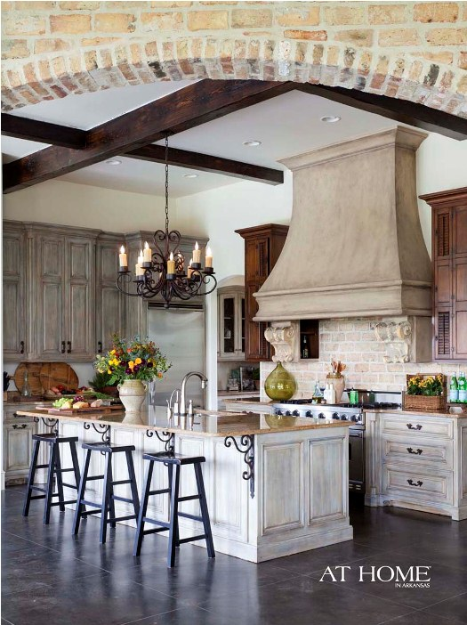 Charming Provence Kitchen