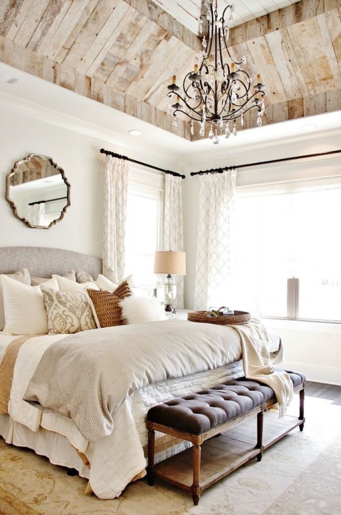 Modern Version Of A French Country Bedroom Design