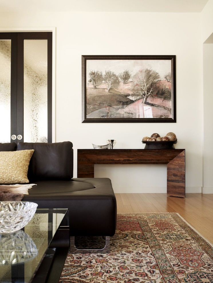 Modern Wood Solution For A Living Room. Console Table Could Fit ...
