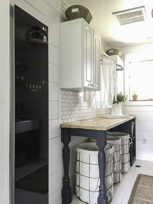 Farmhouse Laundry Room could look really stylish