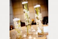 full size submerged flowers centerpiece