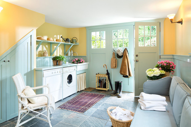 one more awesome laundry and mudroom combo