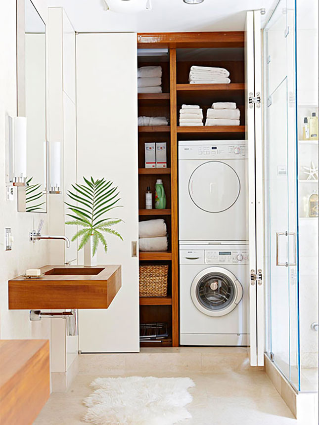 Small Bathroom Laundry Designs 70 functional laundry room design ideas - shelterness