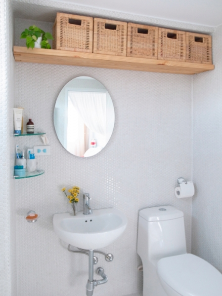 Baskets Are Perfect To Store Things In A Bathroom