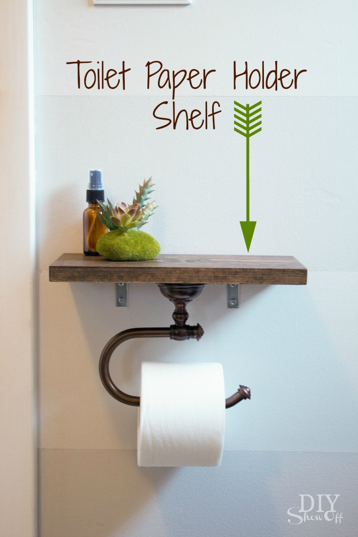 even toilet paper holder should be multipurpose