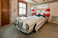 Nowadays there are beds made from real cars.