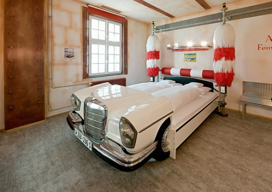 Nowadays there are beds made from real cars. (via digsdigs)