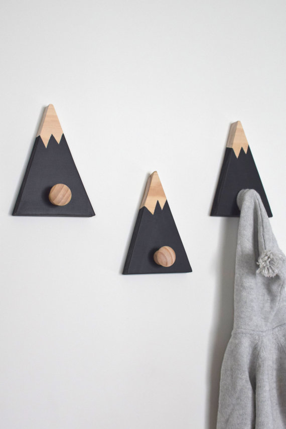 cute wall hooks is what you need for those clothes your kid wear every day