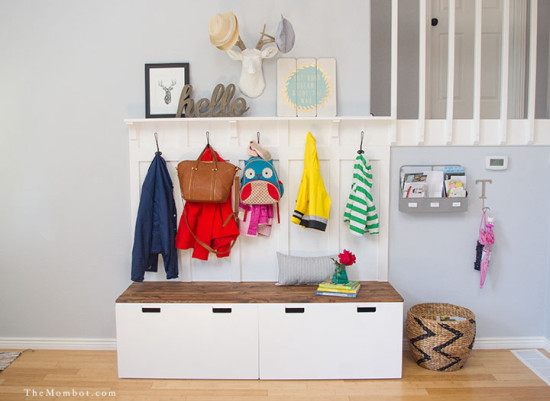 diy mudroom is possible from ikea stuva furniture