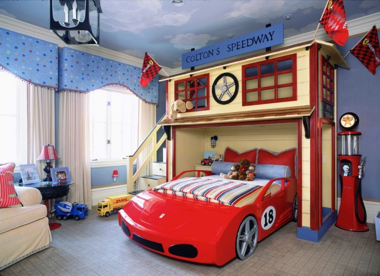 everybody would want to have a ferrari in their bedroom