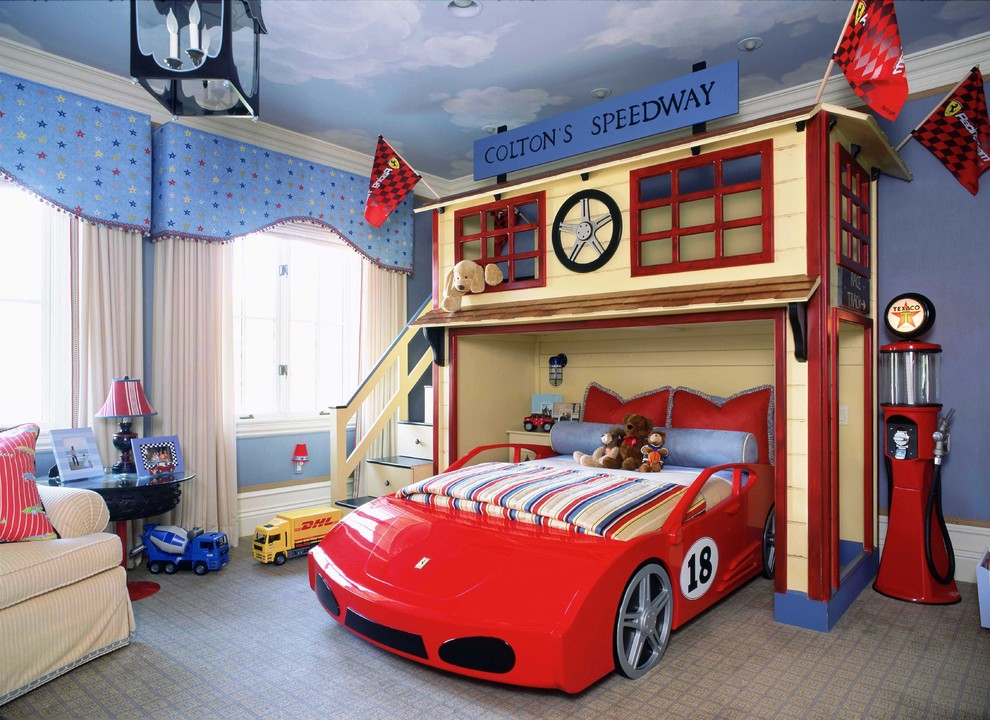 55 Cool Car Beds For A Stylish Kids Room