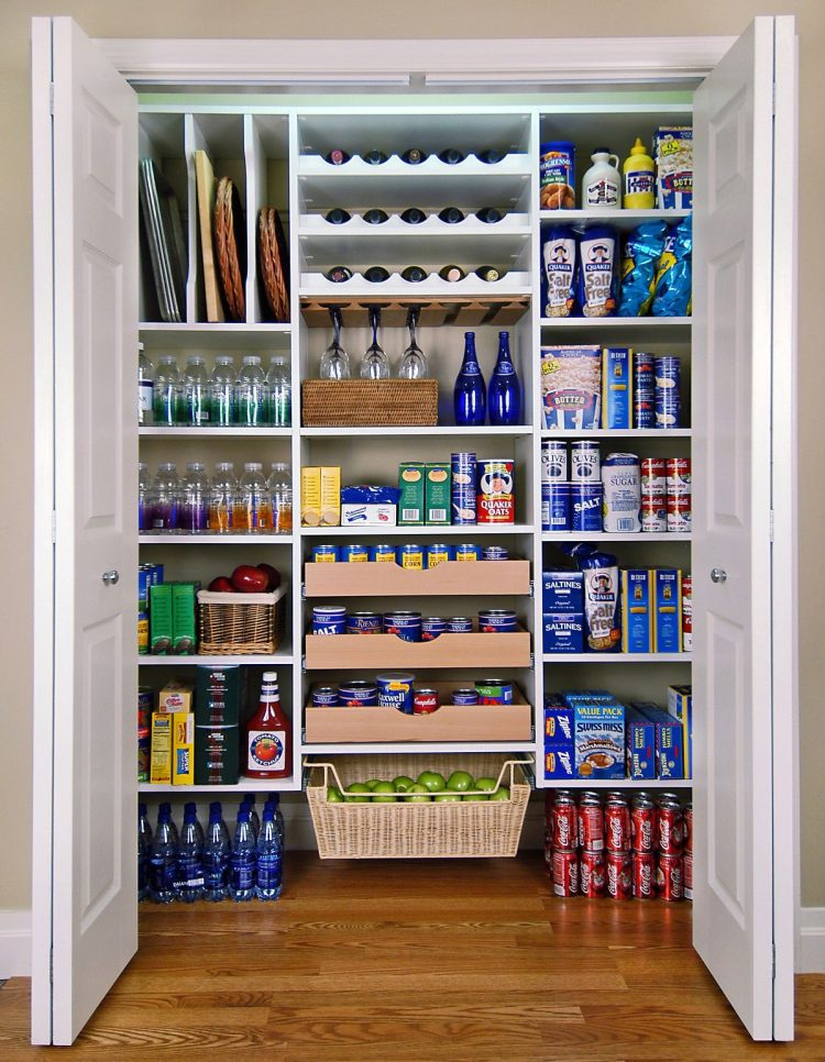 kitchen pantry closet can help you stay organized there - Pantry Design Ideas