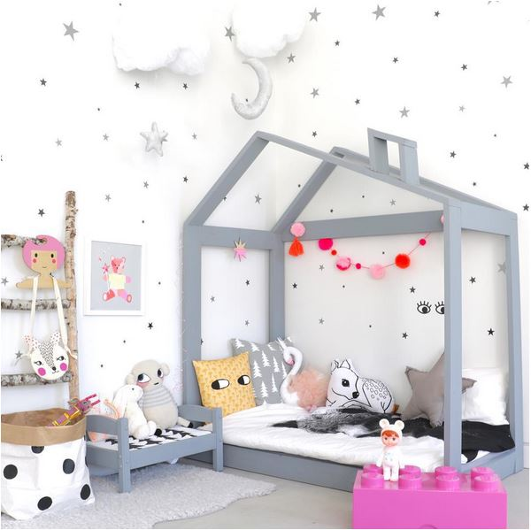 lots of things could be DIY for a beaiutful kids room decor