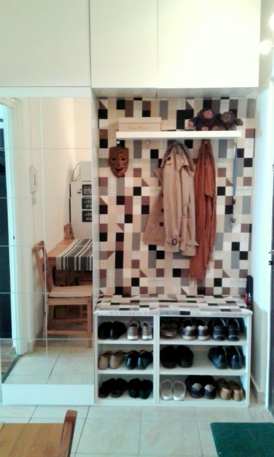67 mudroom and hallway storage ideas shelterness for Ikea entry cabinet