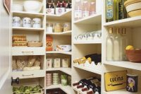 simple yet well organized pantry example