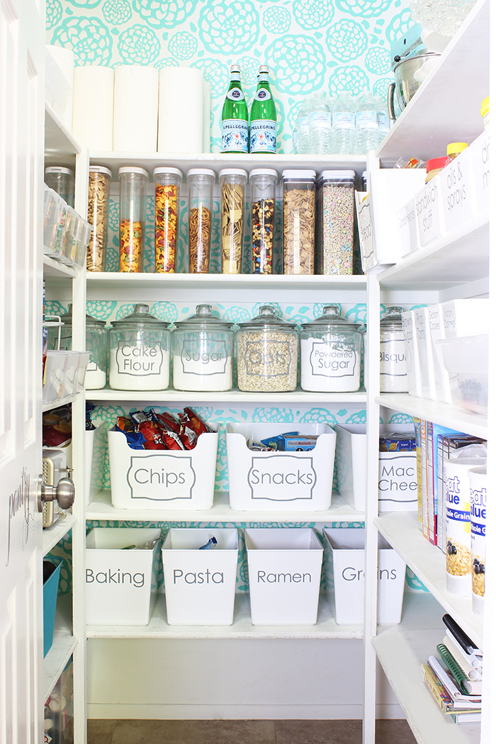 smart pantry organization is quite easy