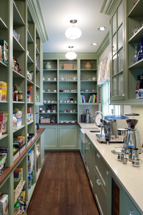 when your kitchen is a pantry by itself