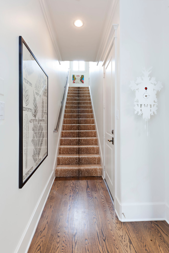 a stairway carpet provide perfect protection from slipping