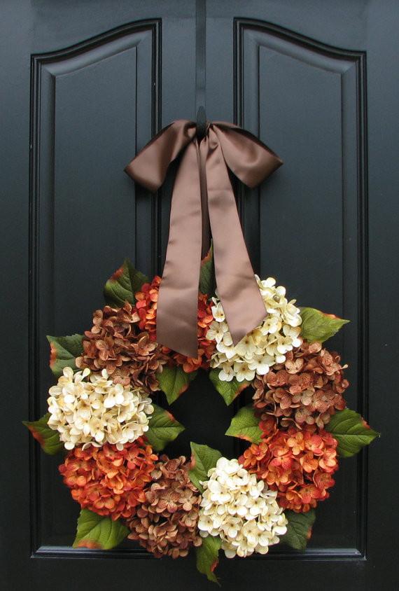 115 cool fall wreath ideas