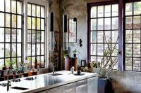 This loft kitchen looks gorgeous, like all other rooms