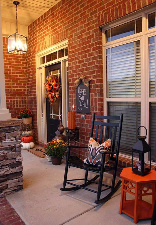 15 Best Images About Front Porch Ideas On Pinterest: 120 Fall Porch Decorating Ideas