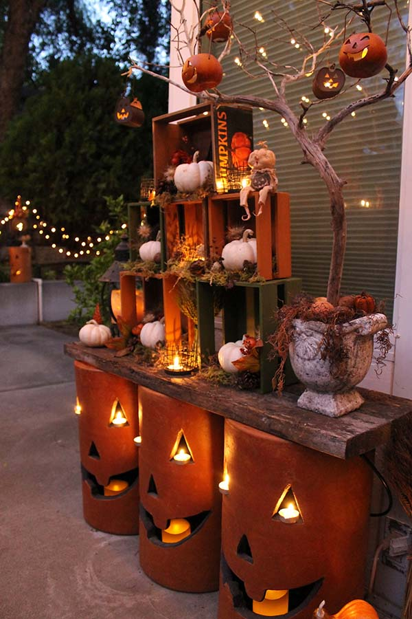 120 Fall Porch Decorating Ideas - Shelterness on Patio Decor Ideas Cheap id=74597