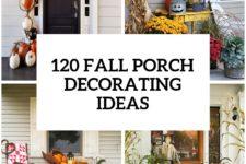 90 fall porch decorating ideas