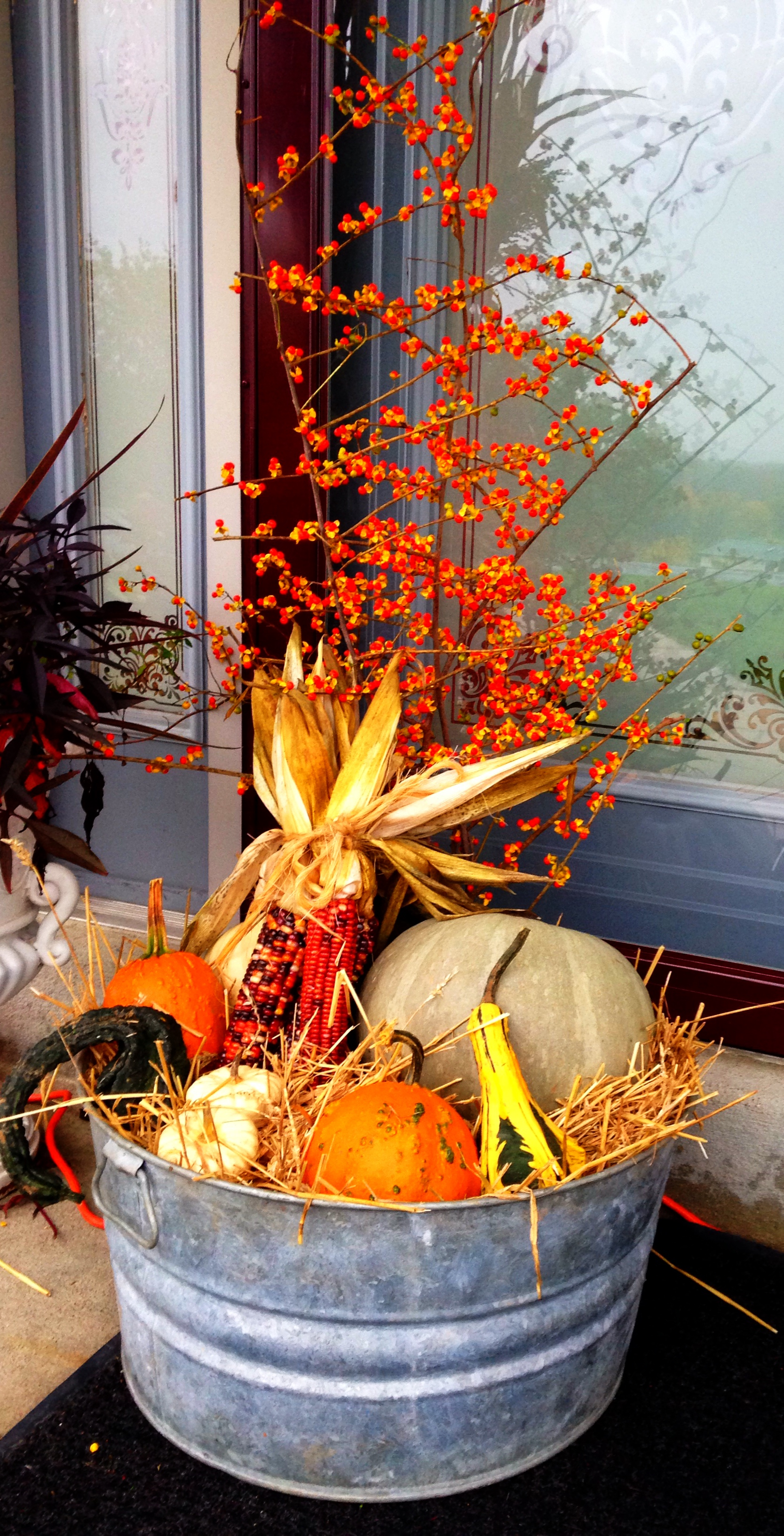 Picture Of Fall Porch Decorating Ideas
