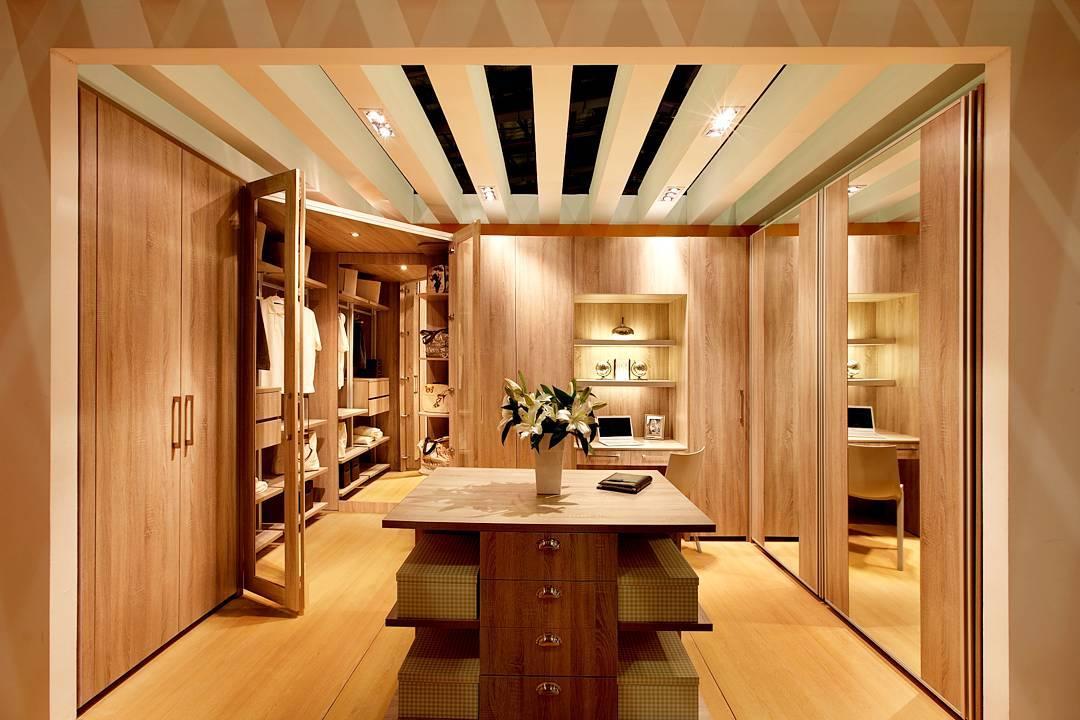 Picture of corner walk in wardrobe design - Cool walk in closet ideas ...