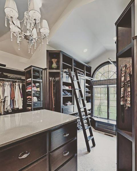 gorgeous big walk-in closet with lots of storage