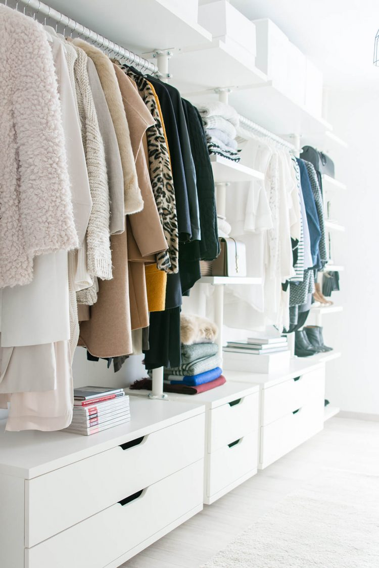 ikea walk in closet that is not pax - Ikea Closet Design Ideas