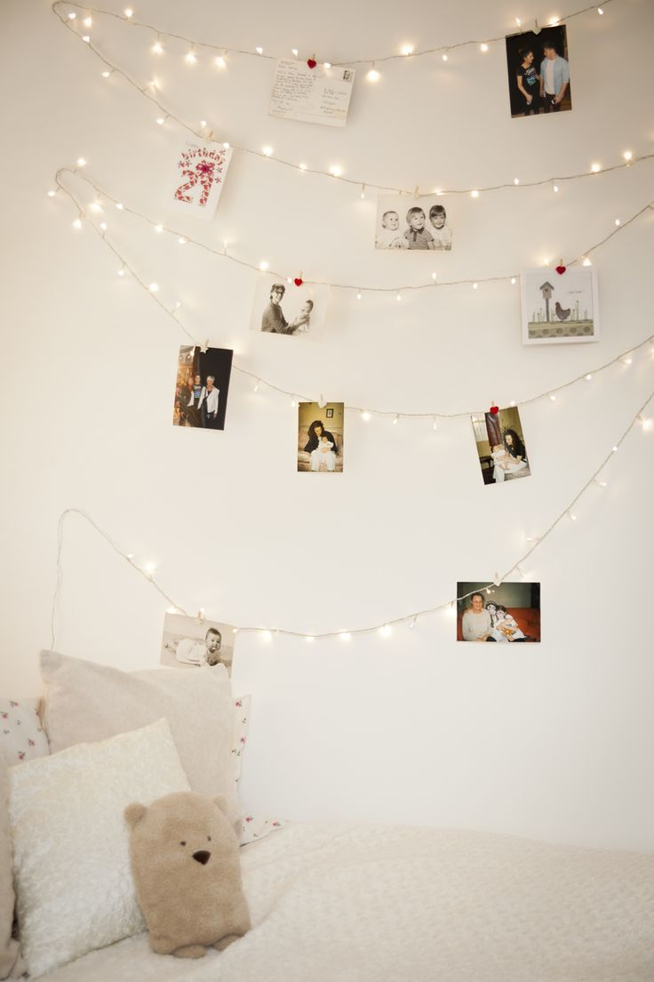 Bedroom christmas lights ideas - Ideas To Hang Christmas Lights In A Bedroom