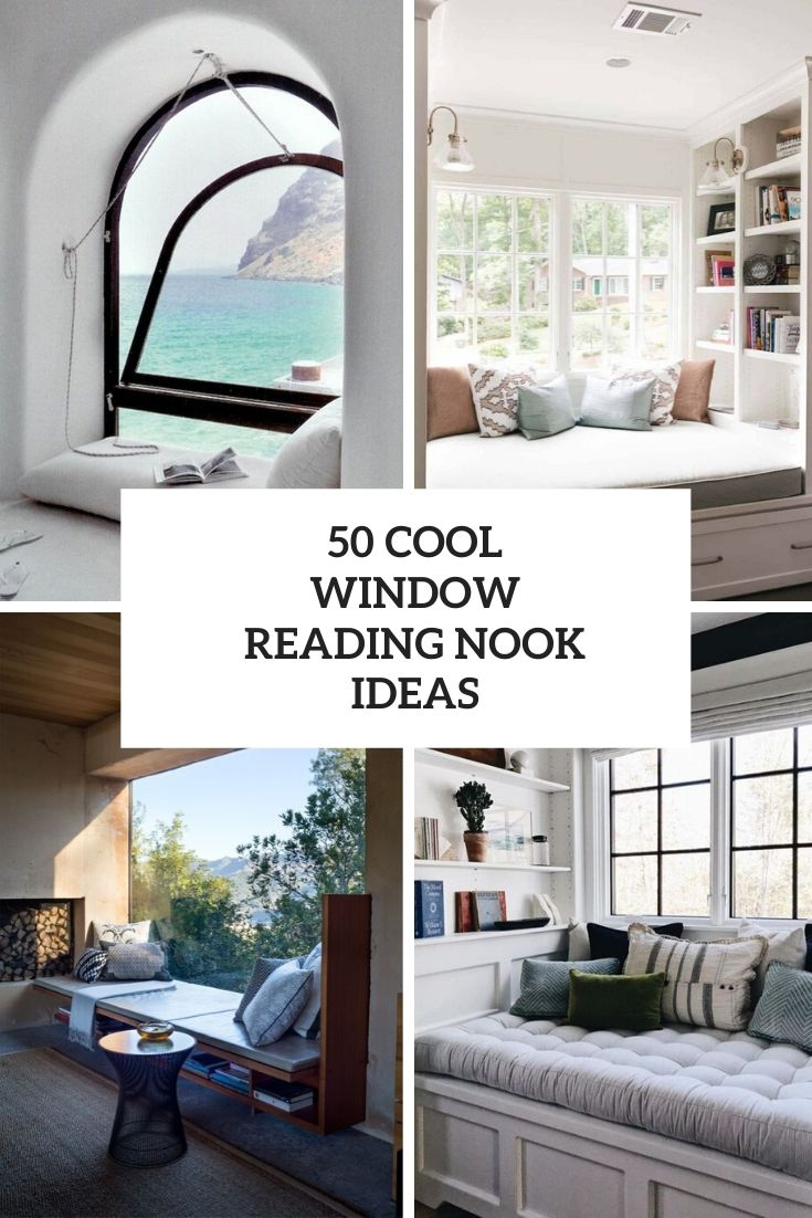 50 Cool Window Reading Nook Ideas
