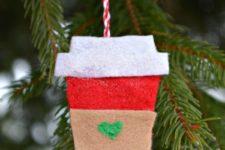 Starbucks coffee ornament