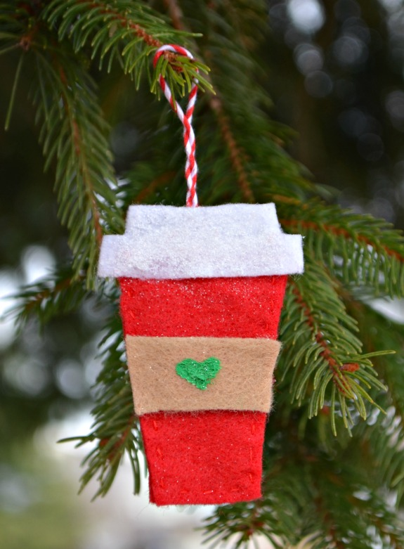 Starbucks coffee ornament