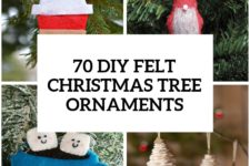 50 diy felt christmas tree ornaments