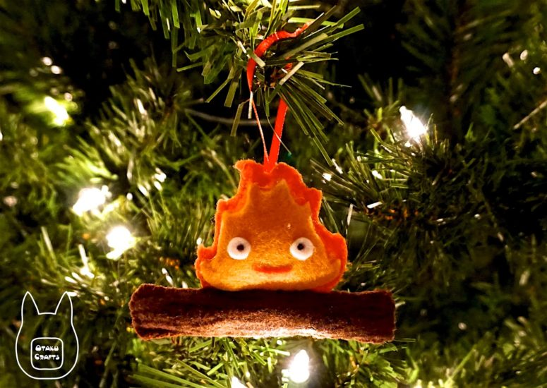 With this free template the making of this warming ornament won't be hard. (via otakucrafts.blogspot.ru)