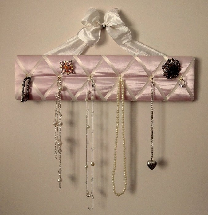 bohemian way to store and display necklaces