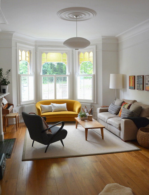 Bay Window Ideas : Cool bay window decorating ideas shelterness
