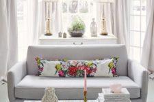 25 cool bay window decorating ideas