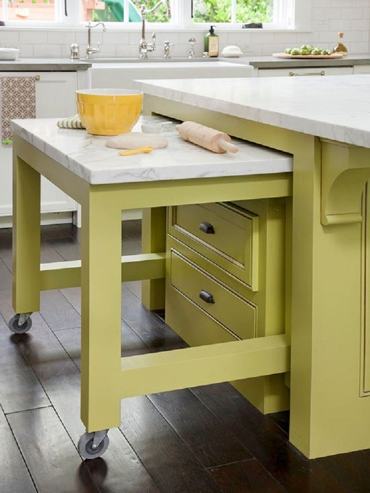 Pull Out Kitchen Table 67 cool pull out kitchen drawers and shelves - shelterness