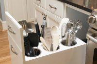 simple diy kitchen bottle drawer organizer