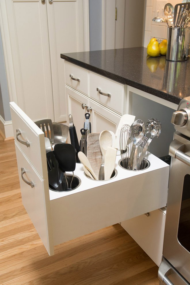 Picture simple diy kitchen bottle drawer organizer