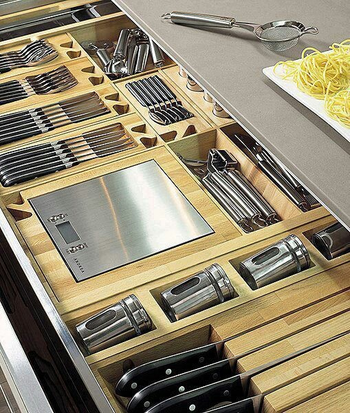 Kitchen Drawers Organizers 70 practical kitchen drawer organization ideas - shelterness