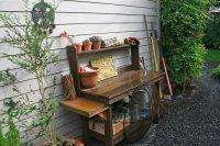 functional garden utility zone